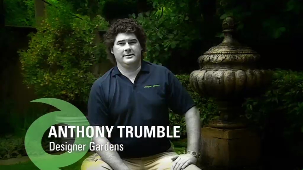 Anthony Trumble from Designer Gardens featured on Our Wild Weather TV programme